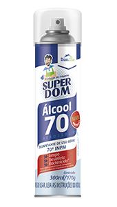 Foto do produto Álcool Aerossol 70%