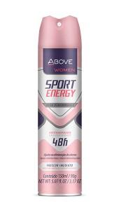 Foto do produto Antitranspirante Sport Energy